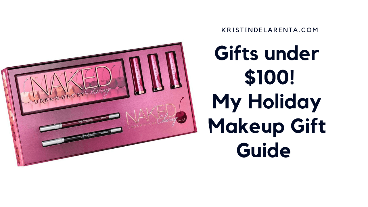 Cool Holiday Makeup Gift Guide