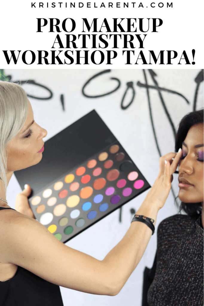 Pro Makeup Artistry Workshops Tampa