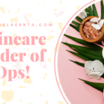 order of skincare