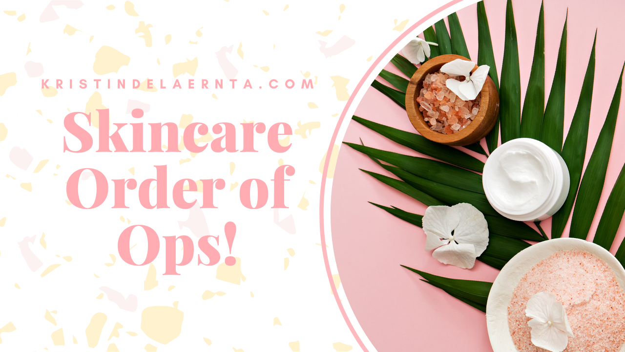 order of skincare